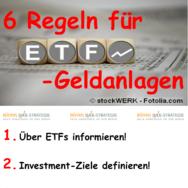 ETF-Geldanlagen