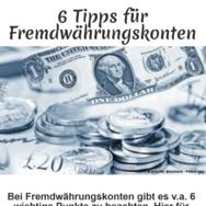 Eröffnung Fremdwährungskonto