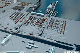 Bouygues Construction: Neuer Hafen von Calais