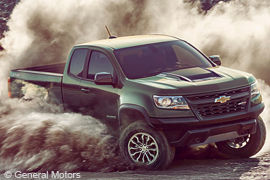 Der Chevrolet Colorado von General Motors