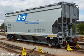 K+S Güterwaggon