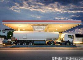 Brent Ölpreis - Öl-Tanklastzug