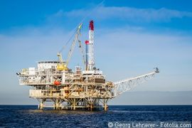 Ölbohrinsel Petrobras