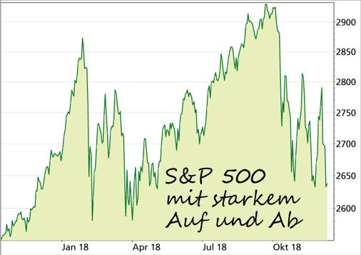 Aktien-Index S&P 500