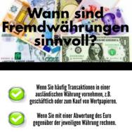 Fremdwährungen